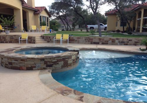 Custom Pool Builder San Antonio Tx Swimming Pool Construction Contractor